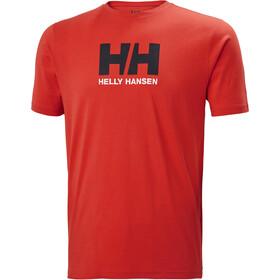 Helly Hansen HH Logo Bluzka z krótkim rękawem Mężczyźni, czerwony